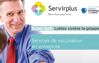 Workplace flu vaccination